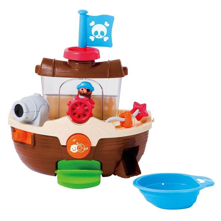 Smiki, statek piracki, zabawka do kąpieli