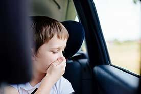 Choroba lokomocyjna u dzieci - sprawdzone sposoby na chorobę lokomocyjną