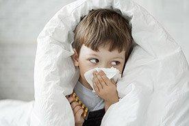 Naturalne sposoby na katar u dziecka