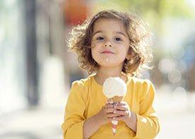 Lody w diecie małego dziecka - czy można je podawać?