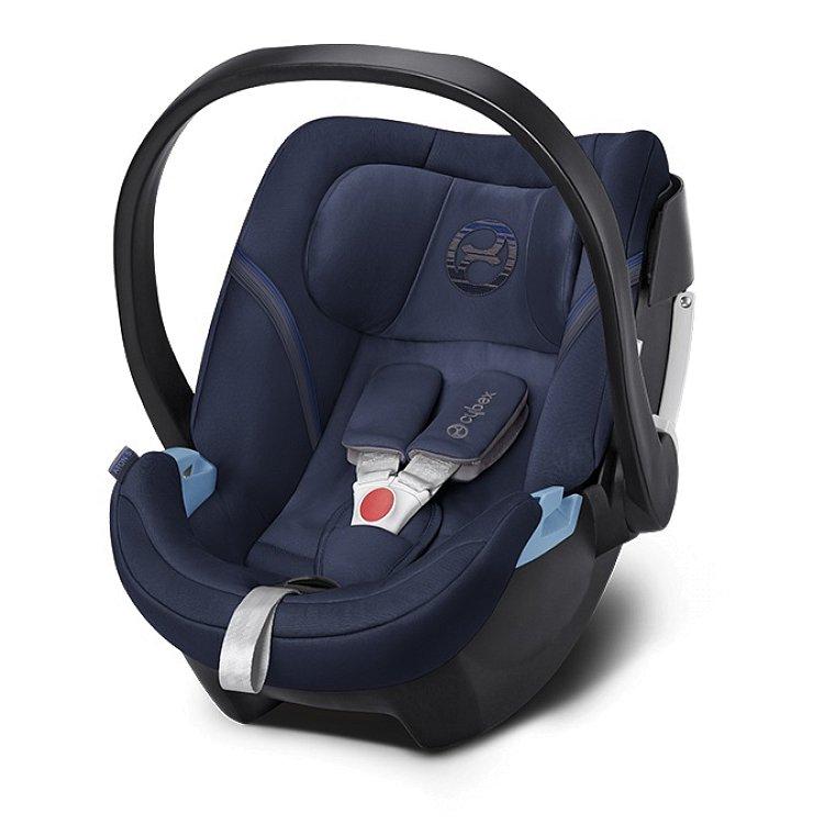 Cybex, fotelik samochodowy Aton 5, 0-13 kg, Denim Blue '18