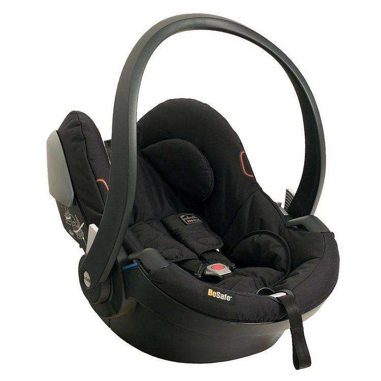 BeSafe, iZi Go, fotelik samochodowy, 0-13 kg, czarny