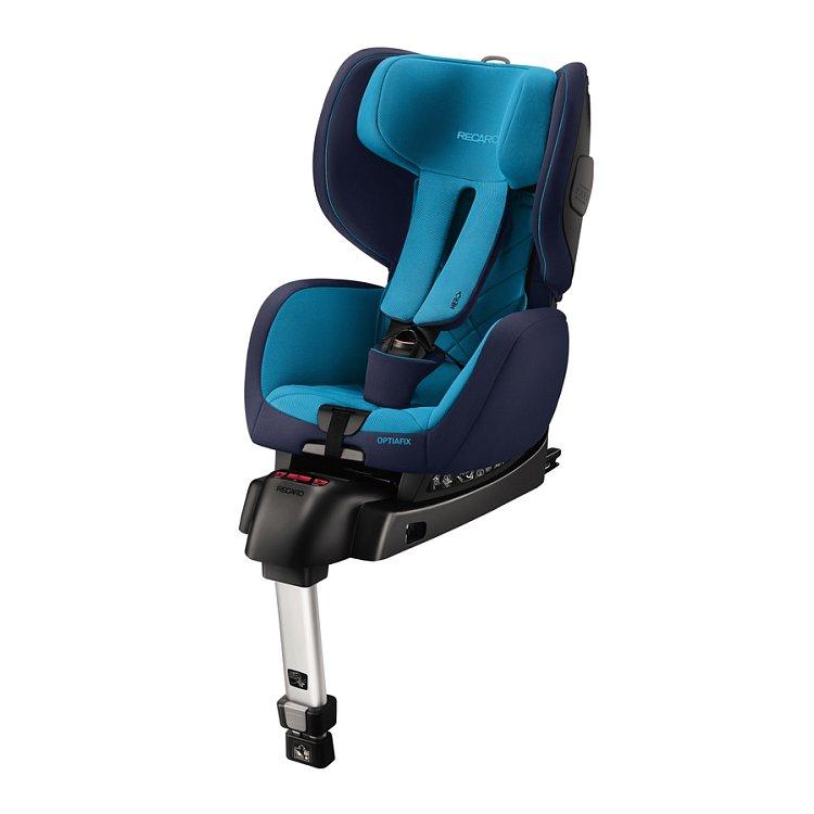 Recaro, Optiafix, Fotelik Samochodowy, 9-18 kg, Xenon blue